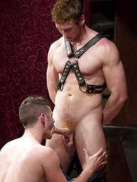 Big daddy Connor Maguire has little twink Chase Young right where he wants him.