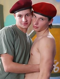 These hot-bodied smooth boys love getting off in their army uniforms